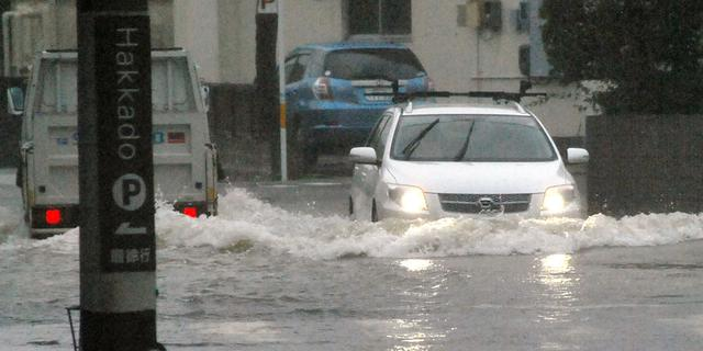 Dodental tyfoon Halong in Japan gestegen
