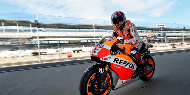 Márquez pakt ook pole position in Indianapolis