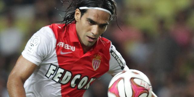 Monaco verliest seizoensopener ondanks goal Falcao