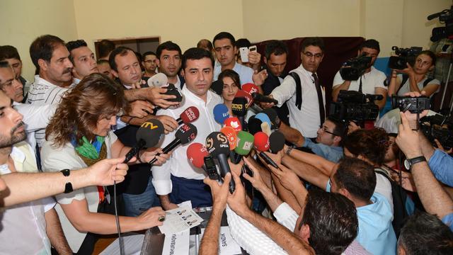 Turkse oppositieleider Demirtas langer in voorarrest