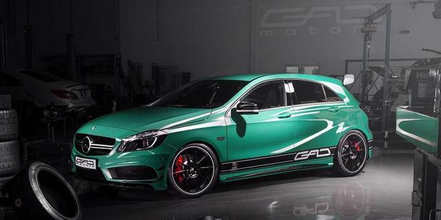 GAD Motors voert Mercedes A 45 AMG op