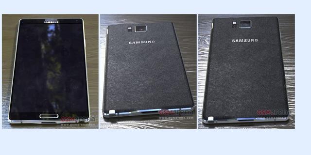 Gelekte foto's tonen Galaxy Note 4 met aluminium rand