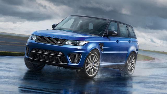 Land Rover onhult Range Rover Sport SVR