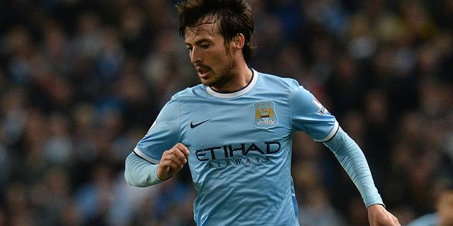 David Silva verlengt contract bij Manchester City tot 2019