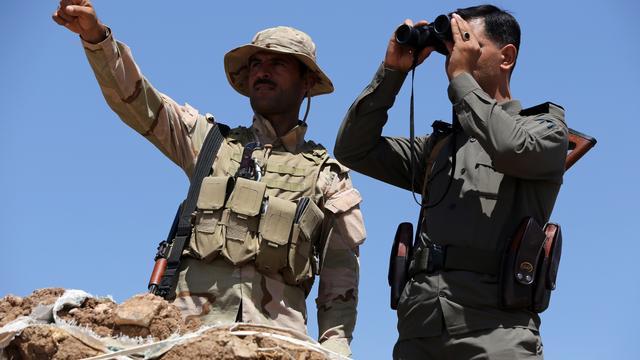 Leger Irak trekt noordelijke stad Amerli binnen