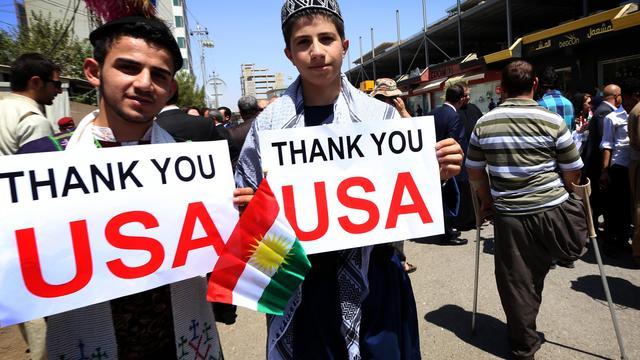 'VS overwegen nieuwe humanitaire missie in Irak'