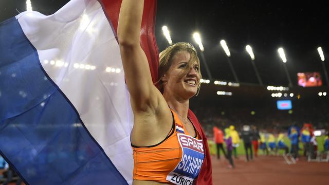 Atlete Schippers pakt Europese titel op 100 meter