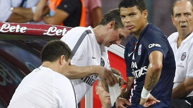 Paris Saint-Germain enkele weken zonder Thiago Silva
