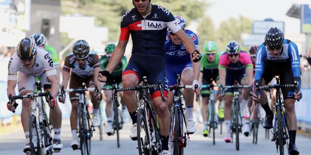 Pellucchi verslaat Lammertink in sprint tweede etappe