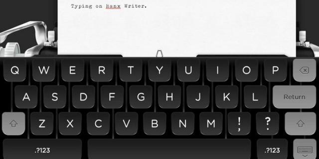 Tom Hanks komt met typemachine-app voor 'hipsters'