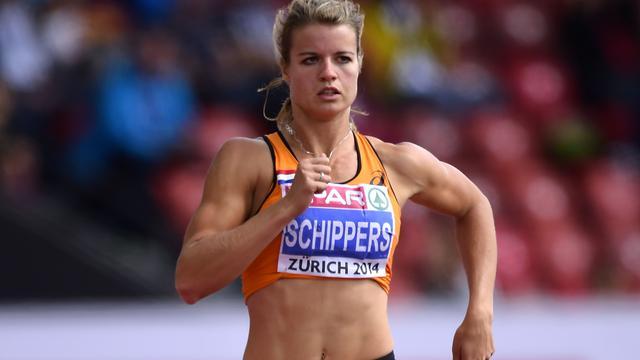Schippers vierde op 100 meter bij Diamond League