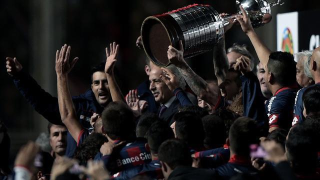 San Lorenzo winnaar Copa Libertadores