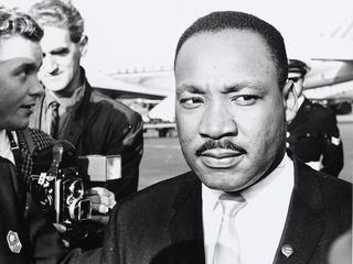Speech is onderdeel van tentoonstelling over King, Ghandi en Mandela