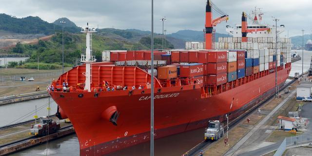 Uitgebreid Panamakanaal eind juni geopend na tien jaar