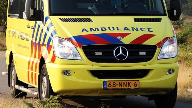 Overlast na ongeluk op N48 bij Balkbrug