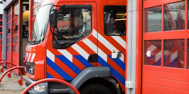 Rookschade na brand in wasmachine Niasstraat