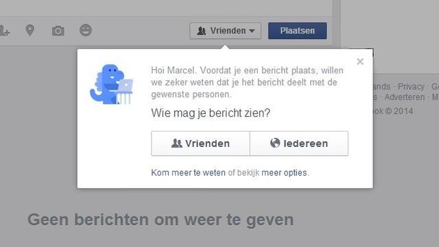 Facebook-dinosaurus