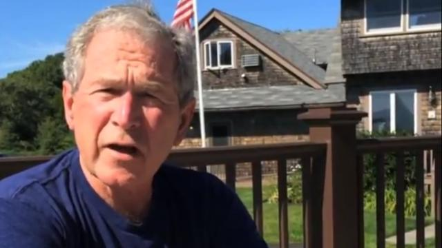 Veteranen boos op George Bush