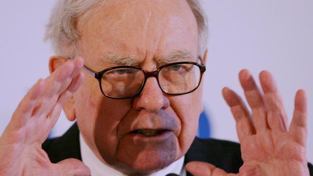 Lagere winst investeringsmaatschappij Warren Buffett
