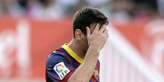 FC Barcelona mag in 2015 geen spelers kopen
