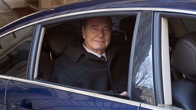 Chirac afwezig bij begin proces