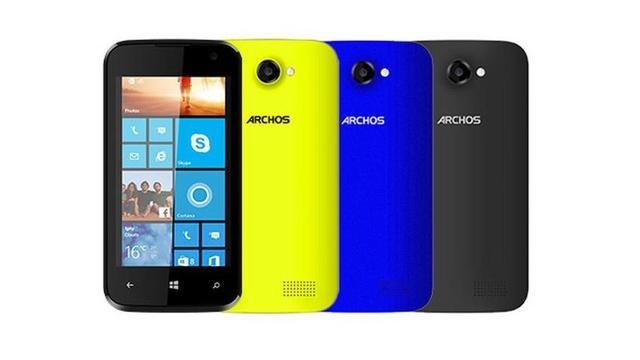 Archos onthult goedkoopste Windows-telefoon en -tablet ooit