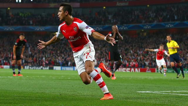 Arsenal verder in Champions League, Napoli loopt groepsfase mis