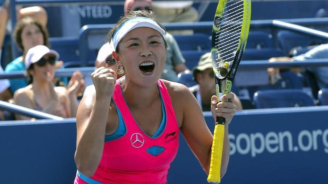 Peng verrast Radwanska, Halep wel verder op US Open