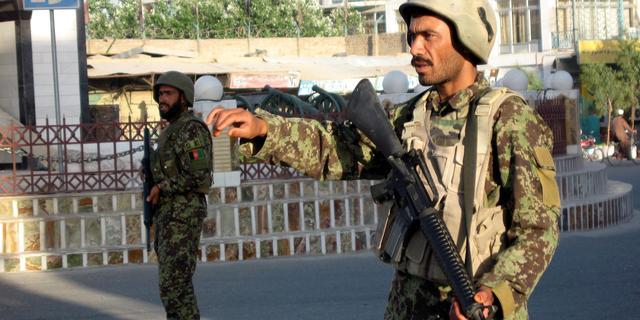 Militairen gedood bij aanslagen Afghanistan