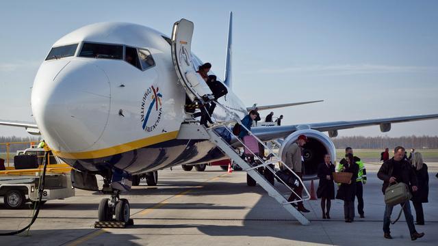 Ryanair heeft geen vluchten naar VS in de planning