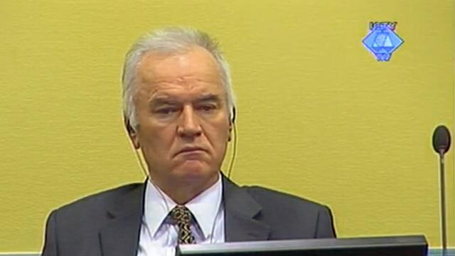 Rechterhand Mladic vraagt om vrijspraak