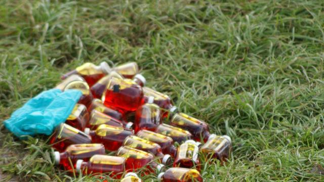 Gevonden ampullen in Maasland zijn giftig