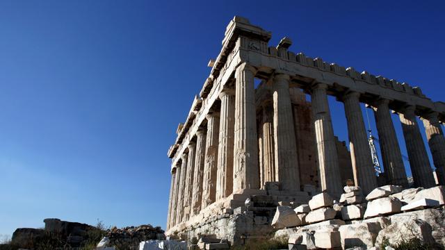 Bom ontploft bij Akropolis in Athene