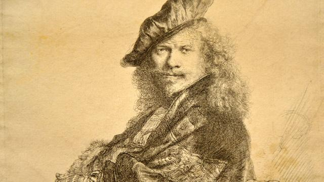 Veel etsafdrukken niet door Rembrandt gemaakt