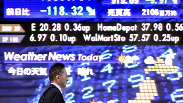 Nikkei sluit licht lager