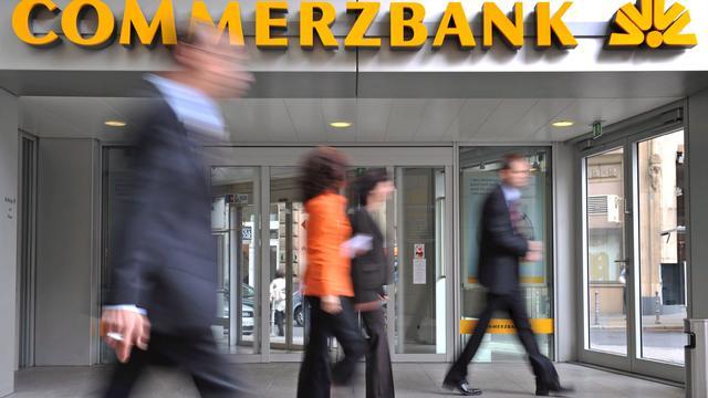 Commerzbank boekt forse winststijging