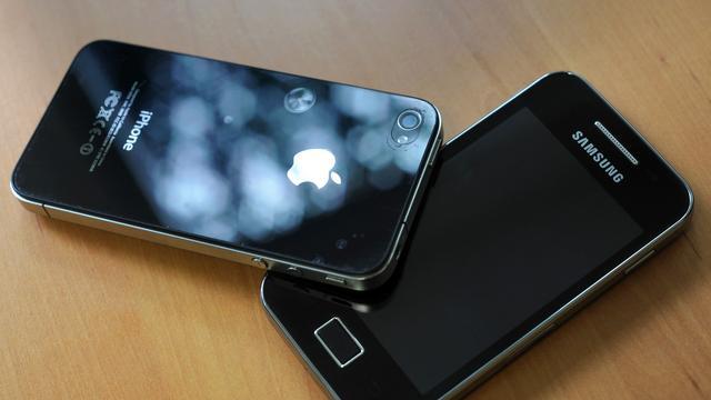 Jury Apple vs. Samsung om door Google