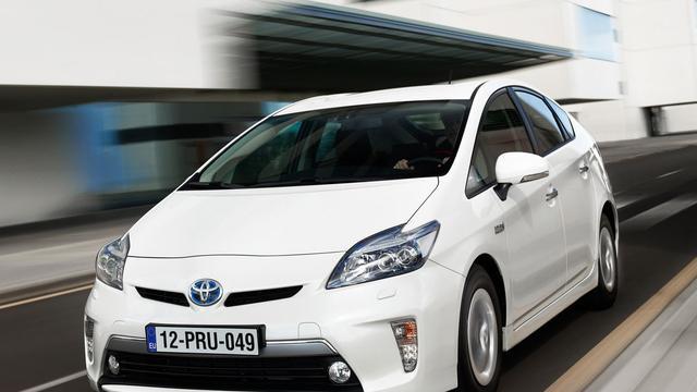 Toyota recyclet accu's