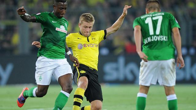 Elia verliest met Werder Bremen van Borussia Dortmund