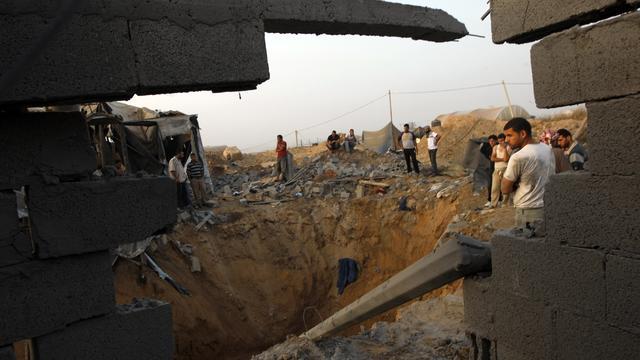 Egypte sluit 120 smokkeltunnels Gazastrook