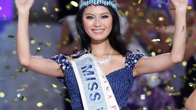 Chinese studente is Miss World 2012
