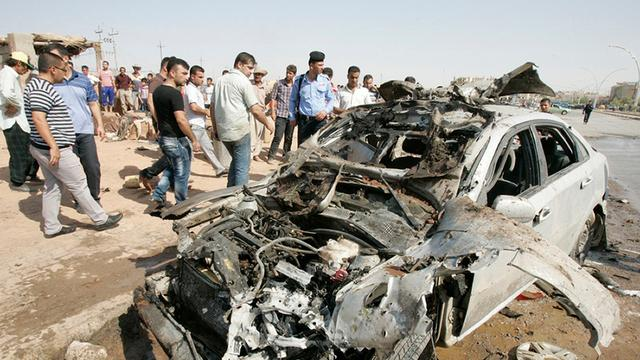 Doden door golf aanslagen in Irak
