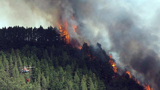 Verdachten brandstichting Canarische Eilanden opgepakt