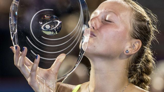 Kvitova de sterkste in tennistoernooi Montreal