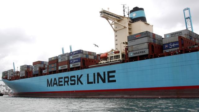 Maersk neemt gas terug om kosten te besparen