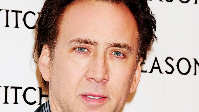 Nicolas Cage bezoekt stripclub