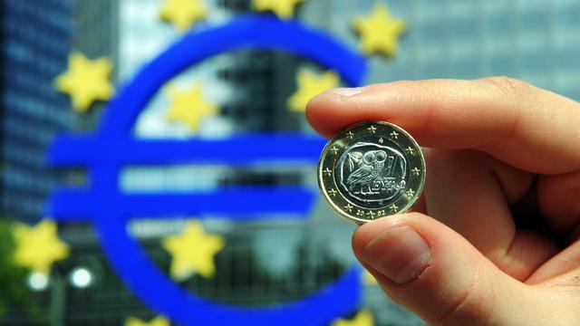 Economie eurozone krimpt met 0,2 procent