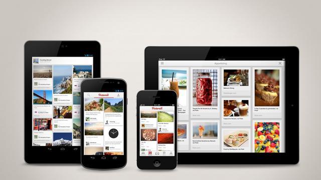 Pinterest lanceert iPad- en Androidapp