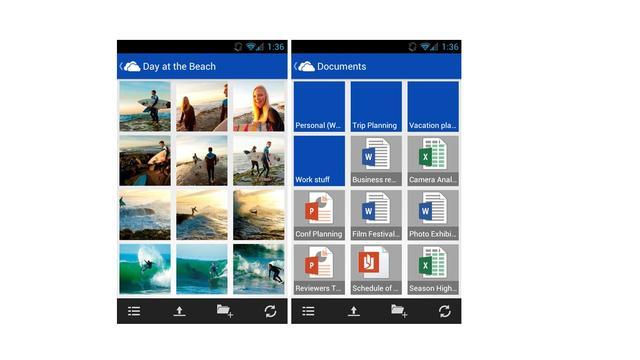 Clouddienst Skydrive ook naar Android