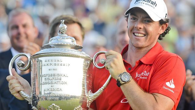 Golfer McIlroy wint zijn tweede major bij PGA Championship